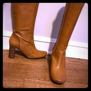 Vintage Banana Republic leather boots